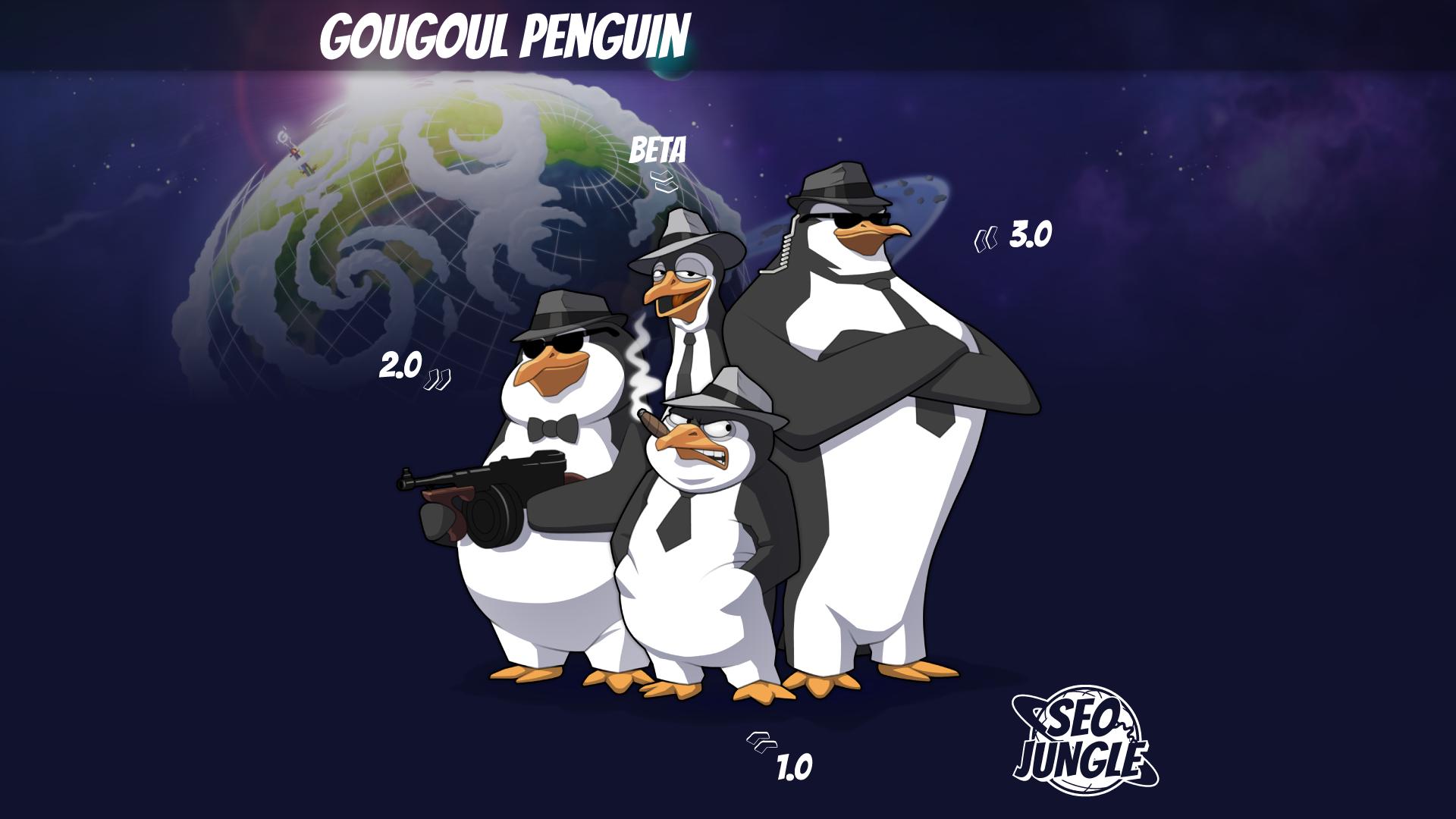 SEO - Gougoul Penguin - personnages BD